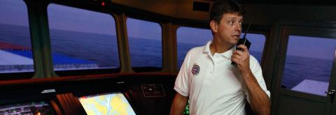 Formacion de Oficial de puente de buques